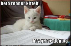 beta reader kitty