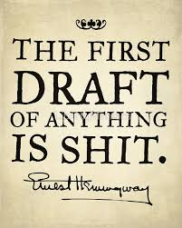 first draft suck